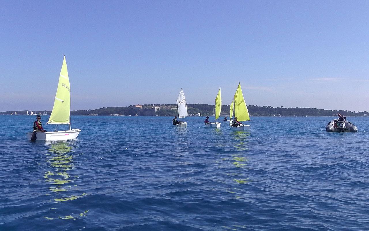 Club Nautique De Nice club nautique croisette » club de voile à cannes, 06, cours